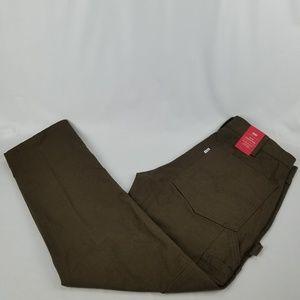 Levi Strauss & CO. Mens Slim Carpenter Brown Jeans